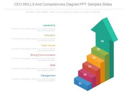 Ceo Skills And Competencies Diagram Ppt Samples Slides