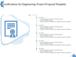 Certifications For Engineering Project Proposal Template Ppt Powerpoint Visuals