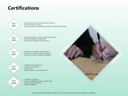 Certifications Management Ppt Powerpoint Presentation Styles Model