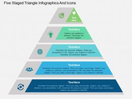 32738298 Style Layered Pyramid 5 Piece Powerpoint Presentation Diagram Infographic Slide