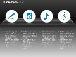 Cf Mike Speakers Music Node Rhythm Ppt Icons Graphics