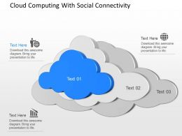 cg Cloud Computing With Social Connectivity Powerpoint Template