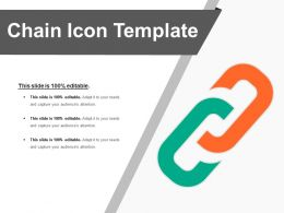Chain Icon Good Ppt Example