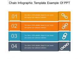 Chain Infographic Template Example Of Ppt