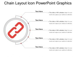 Chain Layout Icon Powerpoint Graphics