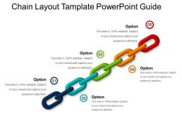 Chain Layout Template Powerpoint Guide