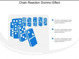 Chain Reaction Domino Effect