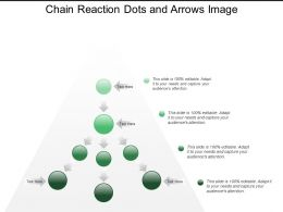 Chain Reaction Dots And Arrows Image
