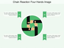 Chain Reaction Four Hands Image