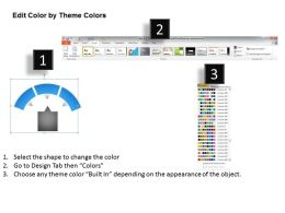14843965 Style Linear 1-Many 3 Piece Powerpoint Template Diagram Graphic Slide