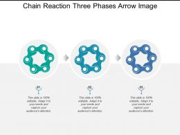 Chain Reaction Three Phases Arrow Image