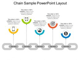 Chain Sample Powerpoint Layout