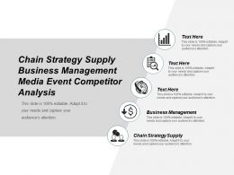 Chain Strategy Supply Business Management Media Event Competitor Analysis Cpb