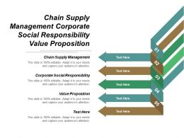 Chain Supply Management Corporate Social Responsibility Value Proposition Cpb