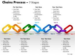 chains process 7 stages powerpoint slides and ppt templates 0412
