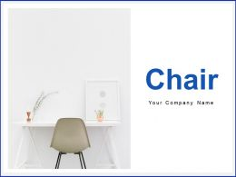 Chair Business Executive Working Desk Meeting Room Office Interior View