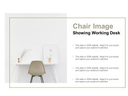 Chair Image Showing Working Desk
