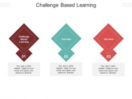 Challenge Based Learning Ppt Powerpoint Presentation Professional Backgrounds Cpb