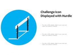 Challenge Icon Displayed With Hurdle
