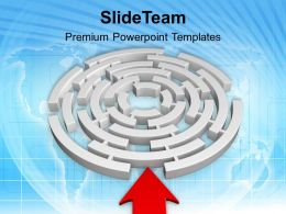 Challenge To Solve The Problem PowerPoint Templates PPT Themes And Graphics 0513