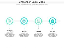 Challenger Sales Model Ppt Powerpoint Presentation Inspiration Background Image Cpb