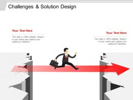 Challenges And Solution Design Sample Of PPT