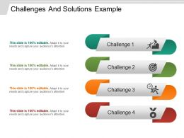 Challenges And Solutions Example PowerPoint Ideas