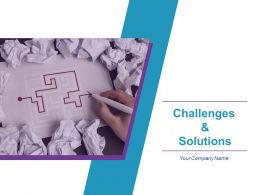 Challenges And Solutions Powerpoint Presentation Slides
