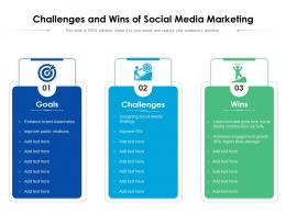 Challenges And Wins Of Social Media Marketing