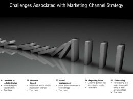 Challenges Associated With Marketing Channel Strategy