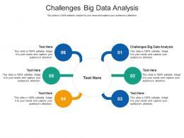 Challenges Big Data Analysis Ppt Powerpoint Presentation Portfolio Images Cpb