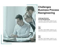Challenges Business Process Reengineering Ppt Powerpoint Presentation File Samples Cpb