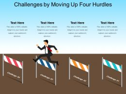 Challenges By Moving Up Four Hurdles