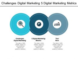 Challenges Digital Marketing 5 Digital Marketing Metrics Diversity Management Cpb