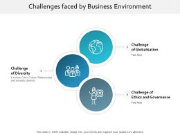 Challenges Faced By Business Environment