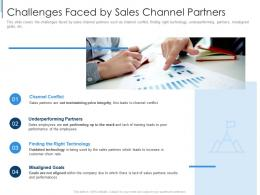 Challenges Faced By Sales Channel Partners Effective Partnership Management Customers