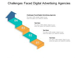 Challenges Faced Digital Advertising Agencies Ppt Presentation Ideas Demonstration Cpb