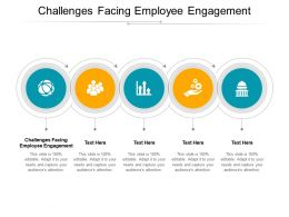 Challenges Facing Employee Engagement Ppt Powerpoint Presentation Slides Slideshow Cpb