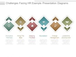 Challenges Facing Hr Example Presentation Diagrams