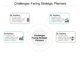 Challenges Facing Strategic Planners Ppt Powerpoint Presentation Slide Download Cpb