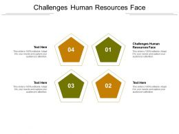 Challenges Human Resources Face Ppt Powerpoint Presentation Inspiration Example Cpb