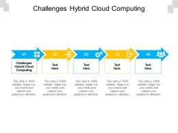 Challenges Hybrid Cloud Computing Ppt Powerpoint Presentation Layouts Vector Cpb