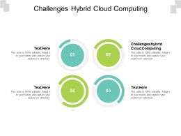 Challenges Hybrid Cloud Computing Ppt Powerpoint Presentation Professional Background Images Cpb