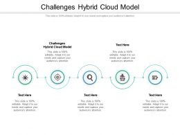 Challenges Hybrid Cloud Model Ppt Powerpoint Presentation Pictures Visuals Cpb