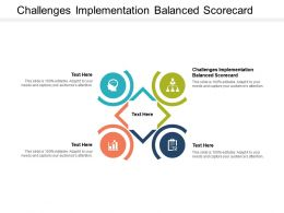 Challenges Implementation Balanced Scorecard Ppt Powerpoint Presentation Model Show Cpb