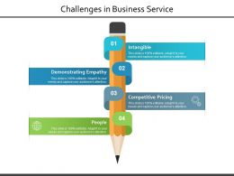Challenges In Business Service