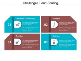 Challenges Lead Scoring Ppt Powerpoint Presentation Pictures Rules Cpb
