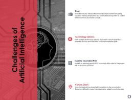 Challenges Of Artificial Intelligence Ppt Powerpoint Presentation Professional Show