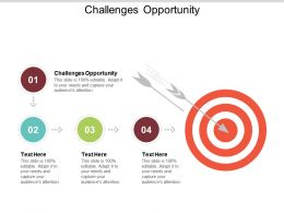 Challenges Opportunity Ppt Powerpoint Presentation File Smartart Cpb