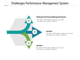 Challenges Performance Management System Ppt Powerpoint Presentation Inspiration Example Topics Cpb